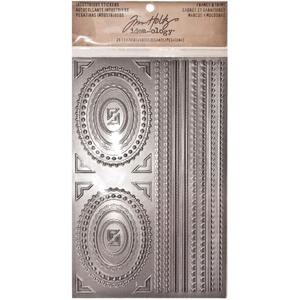 Tim Holtz Idea-ology FRAMES AND TRIMS Industrious Stickers TH93136 zoom image