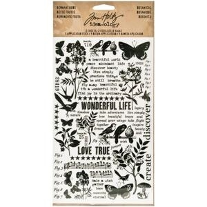 Tim Holtz Idea-ology BOTANICAL REMNANT RUBS  TH93119