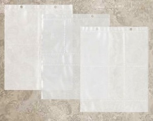 Tim Holtz Idea-ology LARGE Assorted Page Pockets TH93140 zoom image