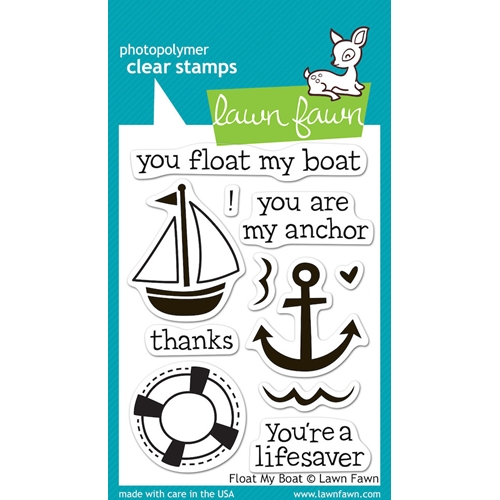 Lawn Fawn FLOAT MY BOAT Clear Stamps LF654 Preview Image
