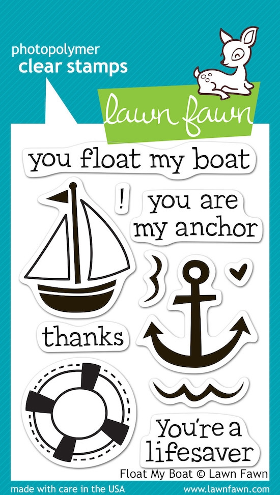 Lawn Fawn FLOAT MY BOAT Clear Stamps LF654 zoom image