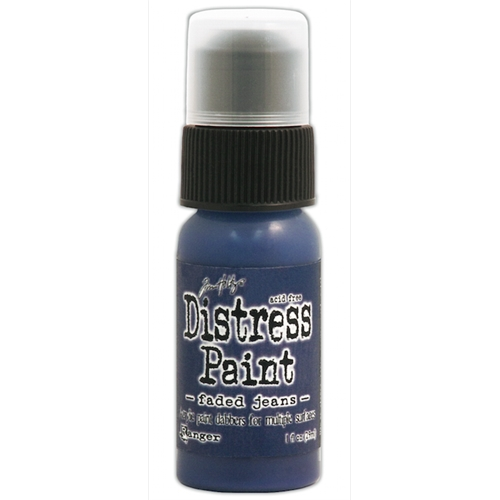 Tim Holtz Distress Paint FADED JEANS Ranger TDD38825 Preview Image