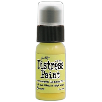 Tim Holtz Distress Paint SQUEEZED LEMONADE Ranger TDD38870