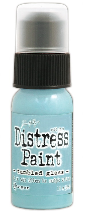 Tim Holtz Distress Paint TUMBLED GLASS Ranger TDD38894 zoom image