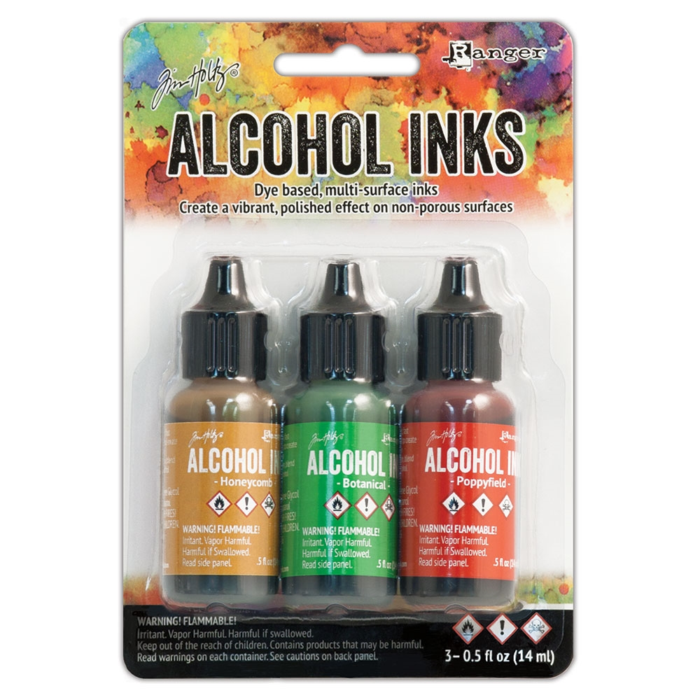 Tim Holtz Alcohol Ink Set CONSERVATORY Ranger TAK40859 zoom image