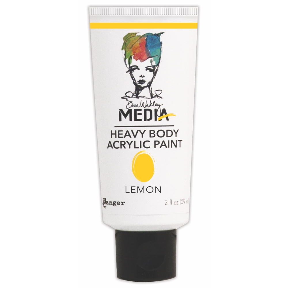 Dina Wakley Ranger LEMON Media Heavy Body Acrylic Paints MDP41092 zoom image