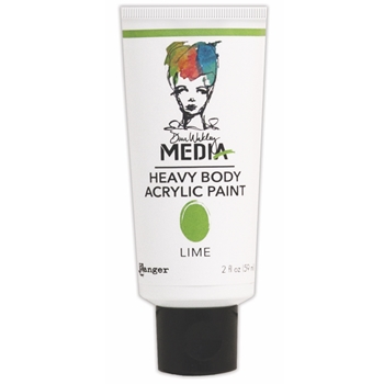 Dina Wakley Ranger LIME Media Heavy Body Acrylic Paints MDP41108