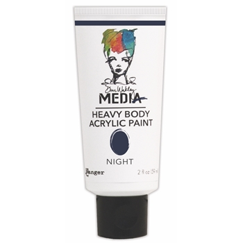 Dina Wakley Ranger NIGHT Media Heavy Body Acrylic Paints MDP41122