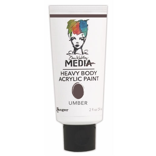 Dina Wakley Ranger UMBER Media Heavy Body Acrylic Paints MDP41177 Preview Image