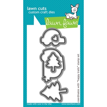 Lawn Fawn HAPPY TRAILS Lawn Cuts Dies LF609