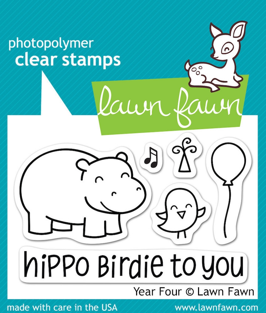 Lawn Fawn YEAR FOUR Clear Stamps LF655 zoom image