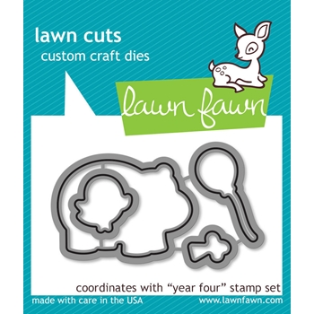 Lawn Fawn YEAR FOUR Lawn Cuts Dies LF660
