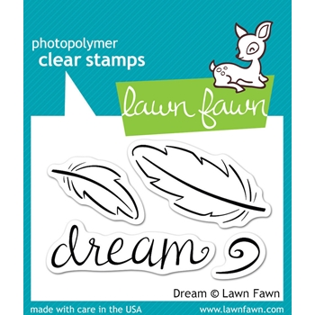Lawn Fawn DREAM Clear Stamps