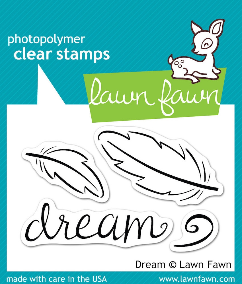 Lawn Fawn DREAM Clear Stamps LF656 zoom image