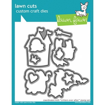 Lawn Fawn CRITTERS EVER AFTER Lawn Cuts Dies