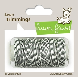 Lawn Fawn Cloudy Single Cord Trimmings