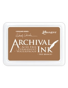 Ranger Wendy Vecchi Archival TREE BRANCH Ink Pad AID41443*