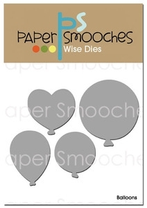 Paper Smooches BALLOONS Wise Dies Kim Hughes Preview Image