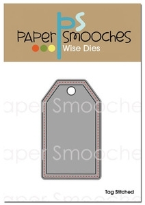 Paper Smooches TAG STITCHED Wise Die Kim Hughes Preview Image