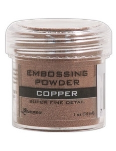 Ranger Copper Metallic Superfine Detail Embossing Powder