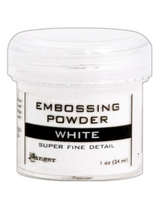 Super Fine White Embossing Powder