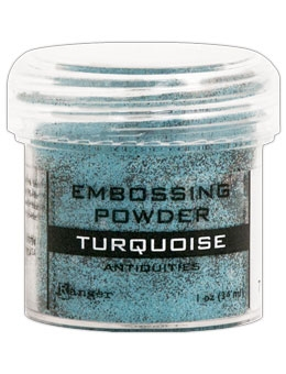 Ranger Embossing Powder TURQUOISE Antiquities EPJ36692 Preview Image
