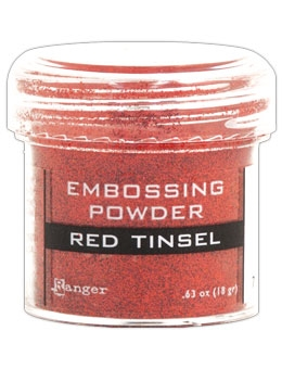 Ranger Embossing Powder RED Tinsel EPJ41061 Preview Image