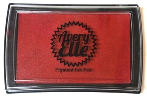 Avery Elle CHERRY Pigment Ink Pad I-13-8
