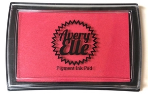 Avery Elle RASPBERRY Pigment Ink Pad 020832