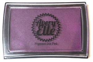 Avery Elle SUGAR PLUM Pigment Ink Pad 020771 zoom image