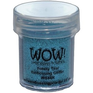 WOW Embossing Glitter TOTALLY TEAL Regular WS44R