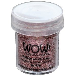WOW Embossing Glitter VINTAGE CANDY CANE Regular WS51R Preview Image