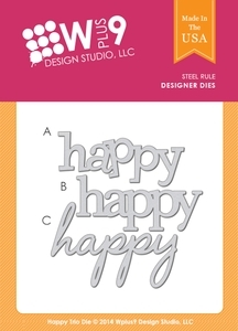 Wplus9 HAPPY TRIO Designer Dies WP9D-077