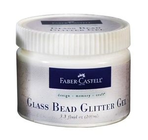 Faber-Castell GLASS BEAD GLITTER GEL Textural Accents 3.3oz 770317
