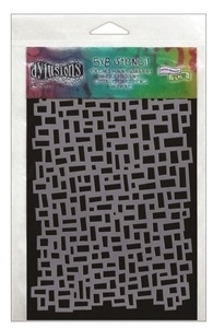 Dyan Reaveley Stencil 5 X 8 BLOCKS Dylusions DYS40651
