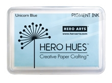 Hero Arts Pigment Ink Pad UNICORN PASTEL BLUE AF281