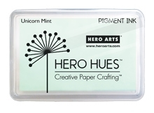 Hero Arts Pigment Ink Pad UNICORN PASTEL MINT AF280 zoom image