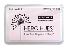 Hero Arts Pigment Ink Pad UNICORN PASTEL PINK AF276 Preview Image