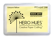 Hero Arts Pigment Ink Pad UNICORN PASTEL YELLOW AF278 Preview Image