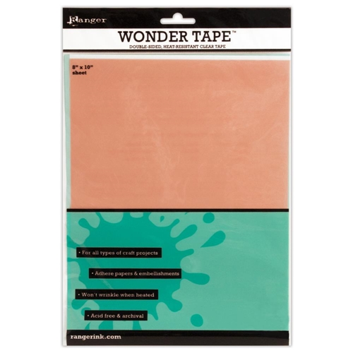 Ranger Inkssentials WONDER TAPE SHEET Double Sided 8 X 10 IWT27409 Preview Image