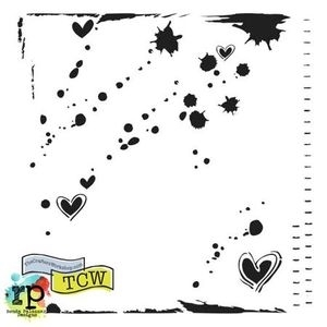 The Crafter's Workshop MINI CONFETTI 6 x 6 Template TCW345S zoom image