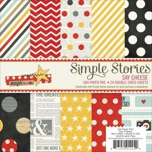 Simple Stories SAY CHEESE 6 x 6 Paper Pad 3322 Preview Image