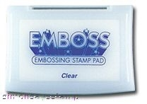Tsukineko CLEAR EMBOSSING INK Stamp Pad 44103