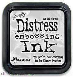 Tim Holtz Ranger Clear DISTRESS EMBOSSING INK PAD Ranger TIM21643 zoom image