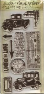 Tim Holtz Visual Artistry THE JOURNEY CLEAR Stamps Set CSS25900