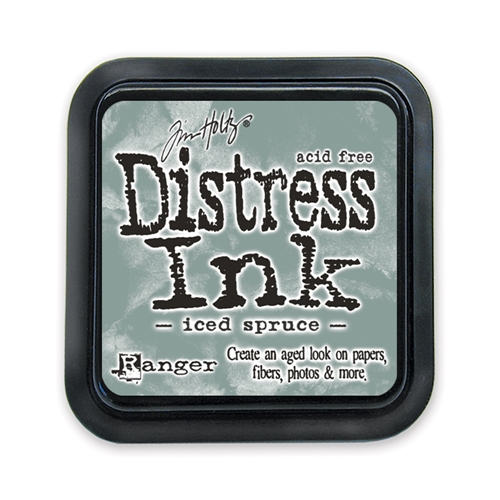 Tim Holtz Distress Ink Pad ICED SPRUCE Ranger TIM32878 Preview Image
