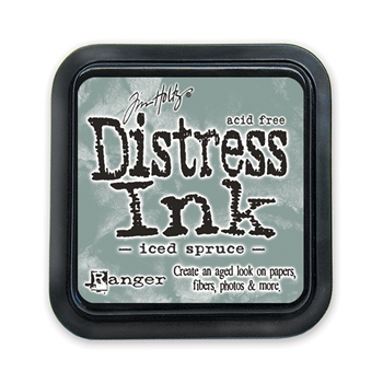 Tim Holtz Distress Ink Pad ICED SPRUCE Ranger TIM32878