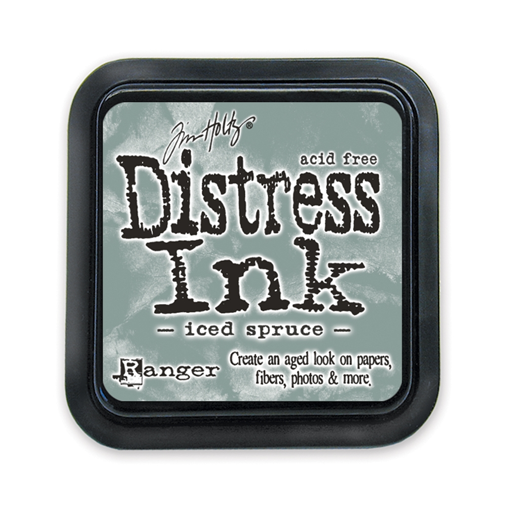 Tim Holtz Distress Ink Pad ICED SPRUCE Ranger TIM32878 zoom image
