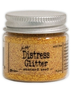 Tim Holtz Distress Glitter MUSTARD SEED Ranger TDG39198 Preview Image