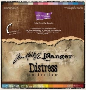 Tim Holtz Core'dinations DISTRESS ColorCore 12 x 12 Cardstock GX190000 zoom image
